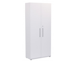 spirit armoire 2 portes en m lamin blanc. Black Bedroom Furniture Sets. Home Design Ideas