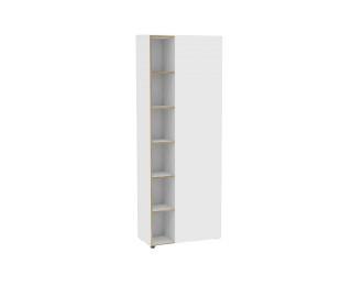 Armoire haute 1 porte finition blanche oslo h212 cm - Armoire blanche 1 porte ...