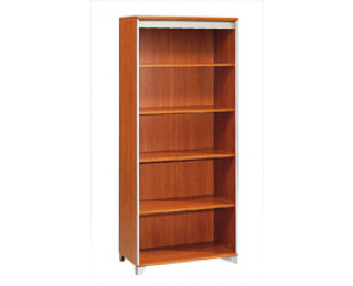 biblioth que largeur 80 cm mambo finition poirier gris. Black Bedroom Furniture Sets. Home Design Ideas