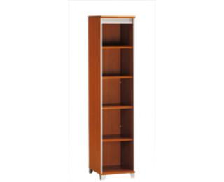 demi biblioth que largeur 42 cm mambo finition poirier gris. Black Bedroom Furniture Sets. Home Design Ideas