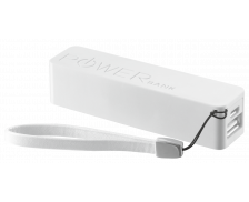 Batterie nomade Power Bank - URBAN REVOLT - 2200 mAh - Blanc