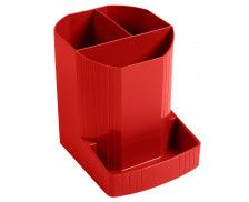 Pot à crayons -  EXACOMPTA - opaque glossy rouge carmin