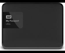 "Disque dur - WESTERN DIGITAL - My passport Ultra black - USB 3.0 - 2.5"""