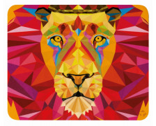 Tapis de souris - TOP OFFICE - Lion