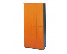 Armoire 3 portes JAZZ, largeur : 80 cm - Coloris aulne