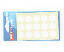 105 Pastilles AGIPA - Diam 19mm - Blanc