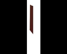 XO Option 1 joue hauteur 72cm, Wengé