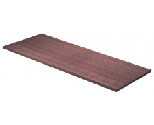 FLORA Top de finition d'étagère pour lier 2 meubles, noyer