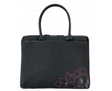 """Sacoche pour PC Portable 14/16"""" lady bag - MOBILIS - Noir/rose"""