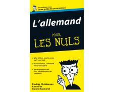 L'allemand pour les nuls : Votre guide de conversation - EDITIONS FIRST