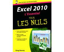 Excel 2010 l'essentiel pour les nuls - EDITIONS FIRST