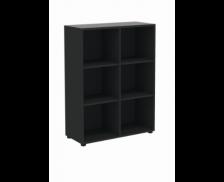 Etagère basse - MAXIM - L84 cm - Finition noire