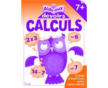 Livre d'aide aux devoirs : Calculs - 7 ans et plus