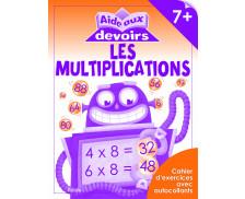 Livre d'aide aux devoirs : Multiplications - 7 ans et plus