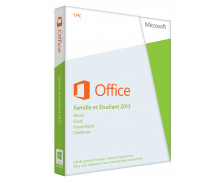 Office Famille et Etudiant 2013 – 1 PC (Carte d'activation)