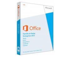 Office Famille et Petite Entreprise 2013 – 1 PC (Carte d'activation)