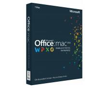 Office Mac Famille et Petite Entreprise 2011 – 1 Mac (Carte d'activation)