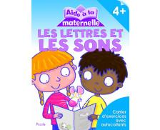 Livre d'aide à la maternelle : Lettre et son - 4 ans et plus