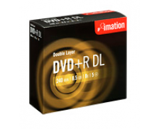 Pack 5 DVD+R  DL 8X - IMATION - 8.5 Gb