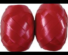 Oeuf Bolduc 10m - Satiné Rouge - 4x6cm