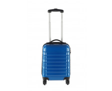 Valise ABS 40cm - Rayures bleues