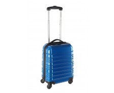 Valise ABS 50cm - Rayures bleues