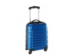 Valise ABS 60cm - Rayures bleues
