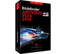 Logiciel anti-virus Plus 2016 - BITDEFENDER - 1 poste - 1 an