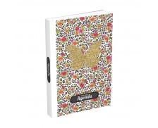 Agenda scolaire journalier Color block - HAMELIN - 12x17 cm - Papillon