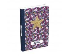 Agenda scolaire journalier Color block - HAMELIN - 12x17 cm - Etoile