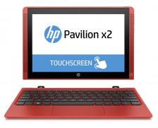 "Tablette hybride HP 10-n200nm - 10.1"" - 32 Go - Rouge"