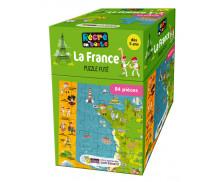Puzzle Futé - RECRE EN BOITE - La France