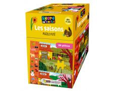 Puzzle Futé - RECRE EN BOITE - Les Saisons