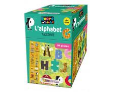 Puzzle Futé - RECRE EN BOITE - L'Alphabet