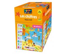 Puzzle Futé - RECRE EN BOITE - Les Chiffres