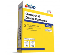 Logiciel Compta & Devis Factures Pratic  - EBP - 2017 - VIP