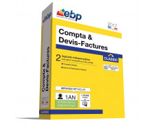 Logiciel Compta & Devis Factures Classic  - EBP - 2017 - VIP