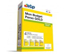 Logiciel Mon Budget Perso - EBP - 2017 - Gold