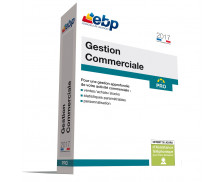 Logiciel Gestion Commerciale Pro - EBP - 2017