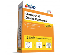 Logiciel Compta & Devis Facture Dynamic - EBP - 2017