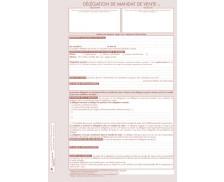 Lot de 25 délégations de mandat de vente - TISSOT - Professions immobilères