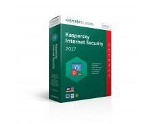 Logiciel Kaspersky Internet Security 2017 - 3 appareils / 1 an