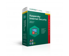 Mise à jour logiciel Kaspersky Internet Security 2017 - 1 appareil / 1 an