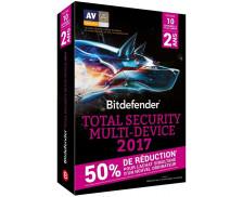 Logiciel total security - Multi Device 2017 - BITDEFENDER- 2 ans