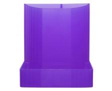 Pot à crayons Mini-Octo - EXACOMPTA - 3 compartiments - Violet