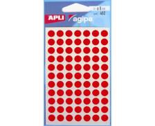 462 Pastilles - AGIPA - Diam. 8mm - Rouge