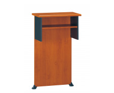 Banque d'accueil haute troite JAZZ, largeur : 65 cm - Coloris aulne