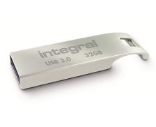 Clé USB 3.0 Arc - INTEGRAL - 32 Go - Zinc