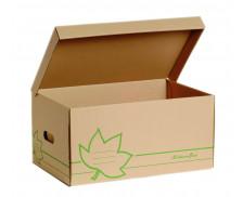 TREILLET 5 Containers pour Boite d'Archives Ecologiques - brun
