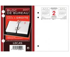 Bloc de Bureau - LECAS - Date droite
